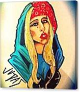 Lady Gaga Judas Canvas Print