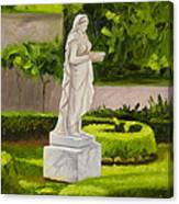 Lady Gandes Garden Canvas Print