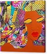 Lady J Canvas Print