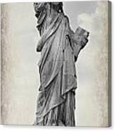 Lady Liberty No 6 Canvas Print
