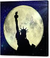 Lady Liberty Nyc - Featured In Comfortable Art Group Canvas Print