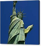 Lady Liberty Replica Canvas Print