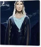 Lady Of The Galadrim Canvas Print