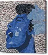 Lady Sings Canvas Print