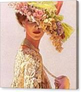 Lady Victoria Victorian Elegance Canvas Print