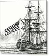 Lady Washington At Friendly Cove Canvas Print