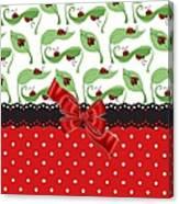 Ladybug Delight  Canvas Print