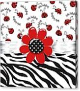 Ladybug Wild Thing Canvas Print