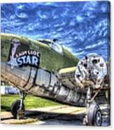 Lady Lode Star Canvas Print