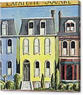 Lafayette Square Canvas Print