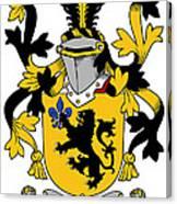 Laffan Coat Of Arms Irish Canvas Print