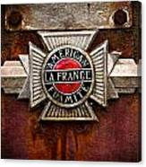 Lafrance Badge Canvas Print