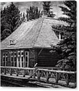 Laggan Station I Canvas Print