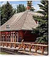 Laggan Station Canvas Print