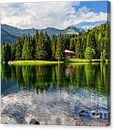 Lago Dei Caprioli - Roe Deer Lake Canvas Print