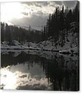 Lago Delle Streghe Canvas Print