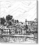 Lago Di Maggiore - Mergozzo Canvas Print