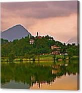 Lago Di Muzzano Mystique Canvas Print