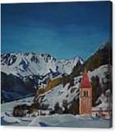 Lago Di Resia Canvas Print