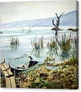 Lago Lull Canvas Print