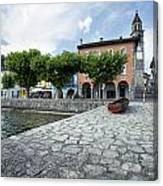 Lago Maggiore Ascona   Canvas Print