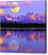 Lago Pehoe In Torres Del Paine Chile Crayons Canvas Print