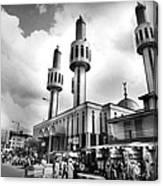 Lagos Central Mosque Canvas Print