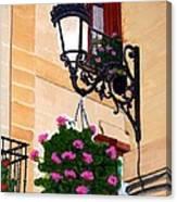 Laguardia Street Lamp  Canvas Print