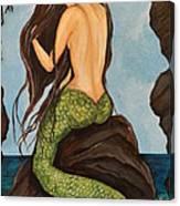 Laguna Beach Mermaid Marina Canvas Print