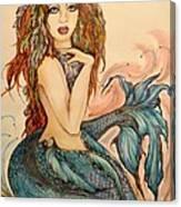 Laguna Blue Canvas Print