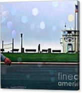 Laguna Living-lifeguard Station Canvas Print