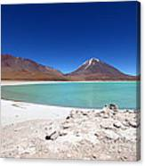 Laguna Verde Bolivia Canvas Print