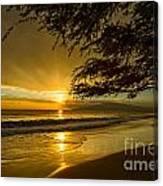 Lahaina Sun Burst Canvas Print
