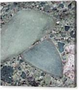 Lahar Deposit Rock Sample Canvas Print