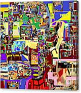 Lail Haseder Gimel 5 Canvas Print