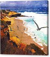Lajolla Afternoon Canvas Print
