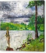 Lake-2 Canvas Print