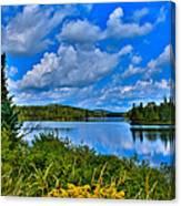 Lake Abanakee - Indian Lake New York Canvas Print