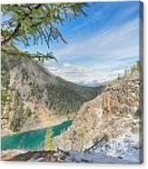 Lake Agnes - Lake Louise - Canada Canvas Print