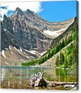 Lake Agnes In Banff Np-alberta Canvas Print