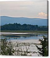 Lake Along Klondike Highway-yt Canvas Print