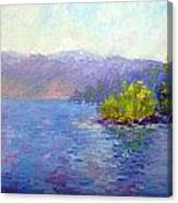 Lake Arrowhead Canvas Print