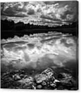 Lake Auburn Twilight Canvas Print