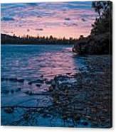 Lake Bailey Sunset Canvas Print