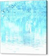 Lake Blue Canvas Print