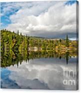 Lake Bodgynydd Canvas Print