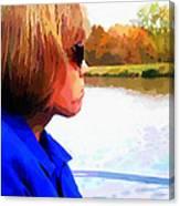 Lake Bracken Outting Canvas Print