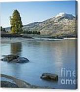 Lake Cascade Canvas Print