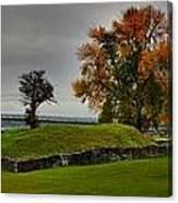Lake Champlain Crown Point Panorama Canvas Print