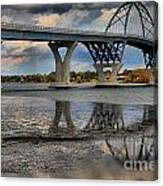 Lake Champlain New Bridge Canvas Print